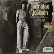 Click here for more info about 'Jermaine Jackson - I Think It's Love - Ex Rental'