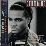 Click here for more info about 'Jermaine Stewart - Say It Again + Obi'