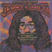 Click here for more info about 'Jerry Garcia - A Talk With... Interview - gold promo stamped'