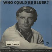 Click here for more info about 'Jerry Lordan - Who Could Be Bluer?'