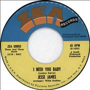 Click here for more info about 'I Need You Baby'