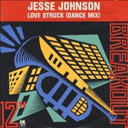 Click here for more info about 'Jesse Johnson - Love Struck - Colour P/s'