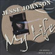 Jesse Johnson My Life USA CD single