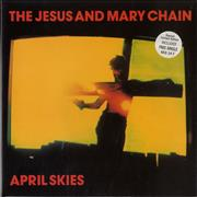 Click here for more info about 'The Jesus & Mary Chain - April Skies - Double Pack'