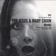 Click here for more info about 'The Jesus & Mary Chain - Munki'