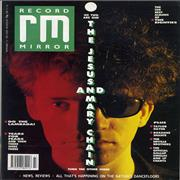 Click here for more info about 'The Jesus & Mary Chain - Record Mirror'