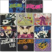 Click here for more info about 'Jesus Jones - Collection of 11 x CD Singles'