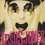 "Jesus Jones Info Freako UK 7"" vinyl"