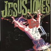 Jesus Jones Liquidizer - Autographed UK vinyl LP