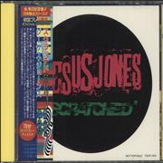 Jesus Jones Scratched + sticker Japan CD album Promo