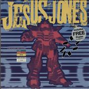 "Jesus Jones The Right Decision - Numbered Sleeve + Poster UK 12"" vinyl"