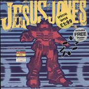 Click here for more info about 'Jesus Jones - The Right Decision - Numbered Sleeve'