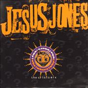 "Jesus Jones Who? Where? Why? UK 7"" vinyl"
