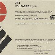 Click here for more info about 'Jet - Rollover D.J.'