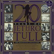 Click here for more info about 'Jethro Tull - 20 Years Of Jethro Tull - VG/EX'