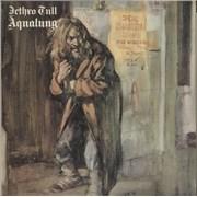 Jethro Tull Aqualung - 2nd - EX UK vinyl LP