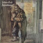 Click here for more info about 'Jethro Tull - Aqualung - Green Label - VG'