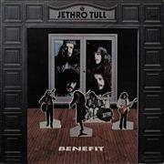 Jethro Tull Benefit - Green Label - 2nd - EX UK vinyl LP