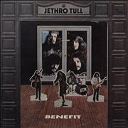 Click here for more info about 'Jethro Tull - Benefit - Green Label - 2nd - VG'