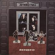 Click here for more info about 'Jethro Tull - Benefit - Green Label - 2nd'