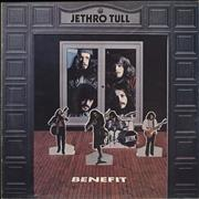Click here for more info about 'Jethro Tull - Benefit - Pink Rim - 3rd - VG'