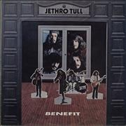 Click here for more info about 'Jethro Tull - Benefit - Pink Rim - 3rd'