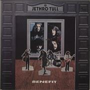 Click here for more info about 'Jethro Tull - Benefit - blue label'