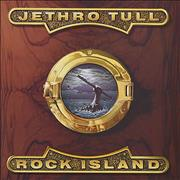 Jethro Tull Rock Island UK vinyl LP