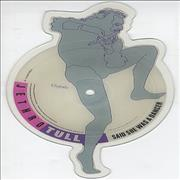Jethro Tull Said She Was A Dancer UK shaped picture disc