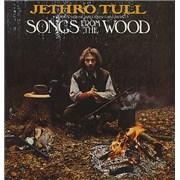 Jethro Tull Songs From The Wood - 2nd UK vinyl LP