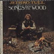 Jethro Tull Songs From The Wood Japan CD album Promo