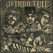 Jethro Tull Stand Up - 1st - Pink 'eye' - VG UK vinyl LP