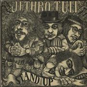 Click here for more info about 'Jethro Tull - Stand Up - 3rd - Pink 'i' - VG'