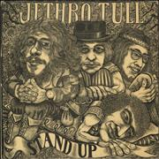 Click here for more info about 'Jethro Tull - Stand Up - Blue Label - Pop-Up Sleeve -Ex'
