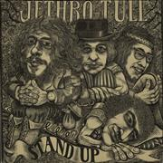 Click here for more info about 'Jethro Tull - Stand Up - Green Label & Pop-up sleeve - EX'