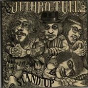 Click here for more info about 'Jethro Tull - Stand Up - Green Label - Pop Up p/s'