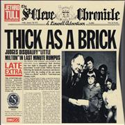 Click here for more info about 'Jethro Tull - Thick As A Brick + Newspaper'
