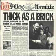 Click here for more info about 'Thick As A Brick - 1st - EX'