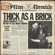 Click here for more info about 'Jethro Tull - Thick As A Brick - 2nd - EX'