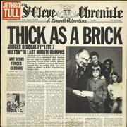 Click here for more info about 'Jethro Tull - Thick As A Brick - Blue Label'