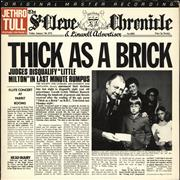 Click here for more info about 'Jethro Tull - Thick As A Brick - Half-Speed Mastered - EX'