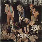 Jethro Tull This Was South Africa vinyl LP