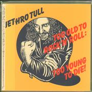 Jethro Tull Too Old To Rock 'n' Roll: Too Young To Die Japan CD album
