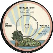 Click here for more info about 'Jim Capaldi - It's All Up To You'