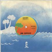 Click here for more info about 'Jim Capaldi - Love Hurts - Solid Centre'