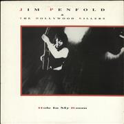 "Jim Penfold Hole In My Room UK 12"" vinyl"