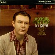 Click here for more info about 'Jim Reeves - According To My Heart'