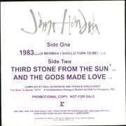 Click here for more info about 'Jimi Hendrix - 1983 (A Merman I Should Turn To Be)'