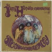 Jimi Hendrix Are You Experienced - Tan Label - shrink USA vinyl LP