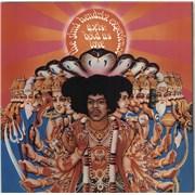 Jimi Hendrix Axis: Bold As Love - 1st + Insert UK vinyl LP